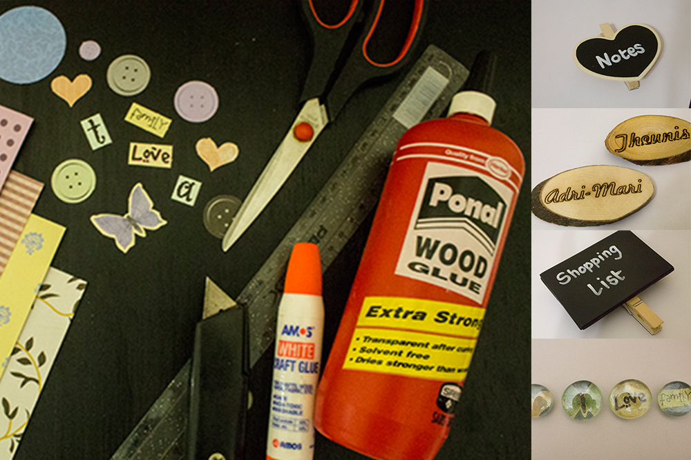 DIY: Fridge magnets by Simply Everything Me