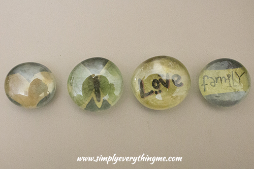 Pebble fridge magnets by simply Everything Me