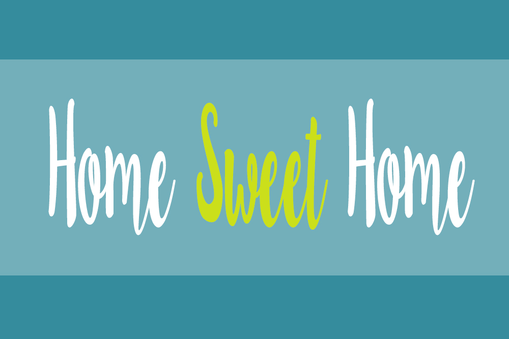 Home Sweet Home - We bough a house. Simply Everything Me