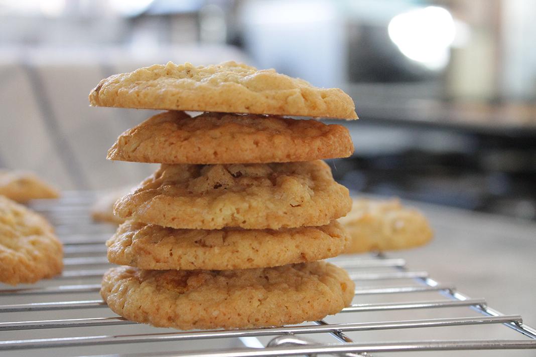 Coconut oats cookies